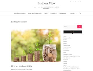 insiders-view.co.uk screenshot