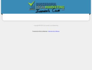 insidersclub.successfullocalmarketing.com screenshot