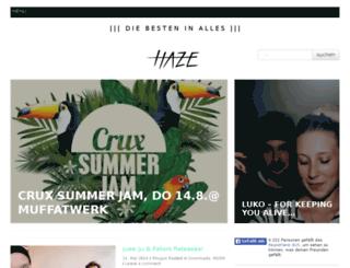 insidethehaze.com screenshot