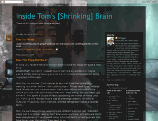 insidetomsbrain.blogspot.com screenshot