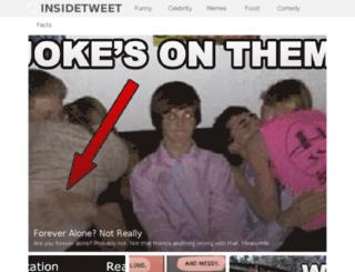 insidetweet.com screenshot