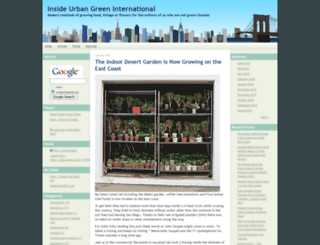 insideurbangreen.org screenshot