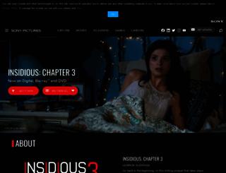 insidiouschapter3.com screenshot