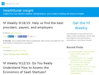 insight.healthfundr.com screenshot