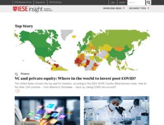 insight.iese.edu screenshot