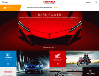 insightowners.honda.com screenshot