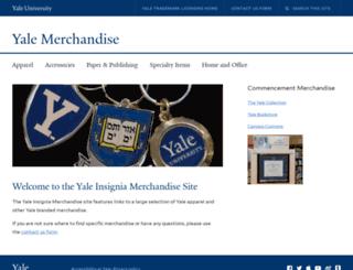 insigniagoods.yale.edu screenshot