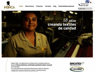 insinca.com screenshot