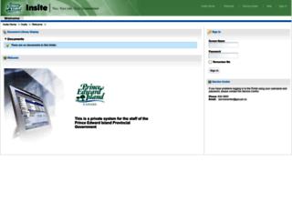 insite.gov.pe.ca screenshot