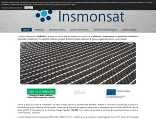 insmonsat.com screenshot