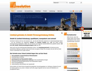 insolution.at screenshot