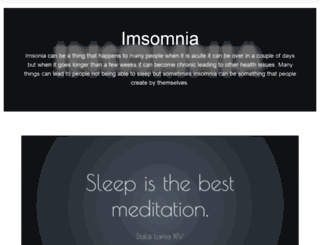 insomnia.ac screenshot