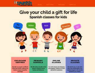 inspanish.com.au screenshot