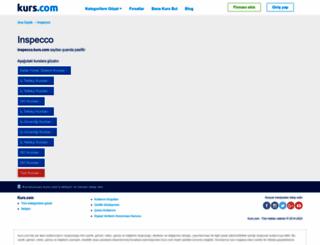 inspecco.kurs.com screenshot