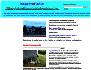 inspectapedia.com screenshot