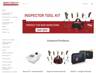 inspectorshop.net screenshot