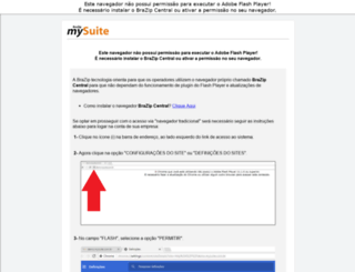 inspell.mysuite.com.br screenshot