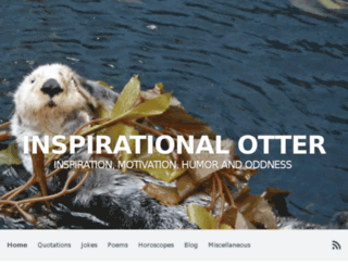 inspirational-otter.com screenshot
