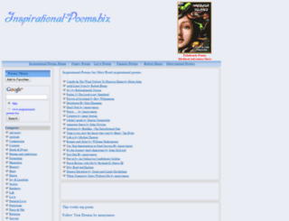 inspirational-poems.biz screenshot