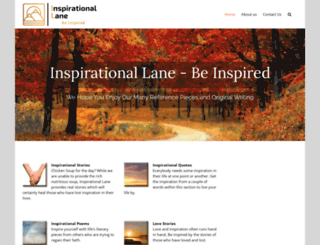 inspirationallane.com screenshot
