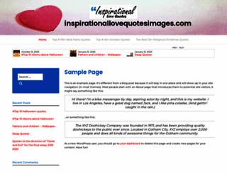 inspirationallovequotesimages.com screenshot