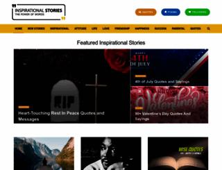 inspirationalstories.com screenshot