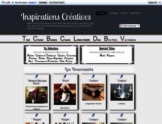 inspirations.creatives.overblog.com screenshot