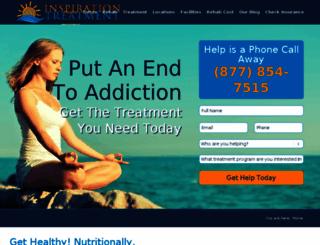 inspirationtreatment.com screenshot