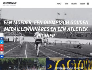 inspire2run.nl screenshot
