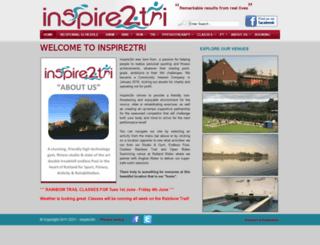 inspire2tri.com screenshot