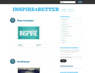 inspire4better.wordpress.com screenshot