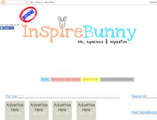 inspirebunny.blogspot.com screenshot