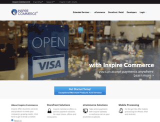 inspirecommerce.com screenshot