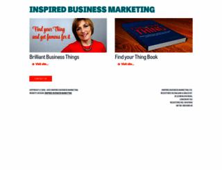 inspiredbusinessmarketing.com screenshot