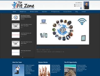 inspiredhealthandhope.ifit.zone screenshot
