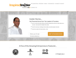 inspiredinsider.com screenshot