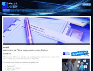 inspiredlearning.co.za screenshot