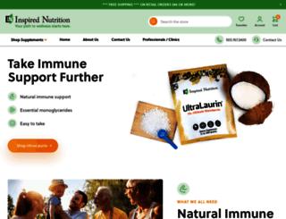 inspirednutrition.com screenshot