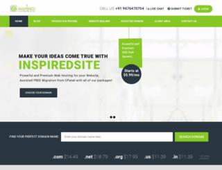 inspiredsite.com screenshot