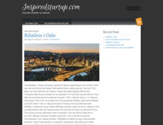 inspiredstartup.com screenshot