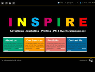 inspireksa.com screenshot