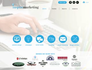 inspiremarketinggroup.com screenshot