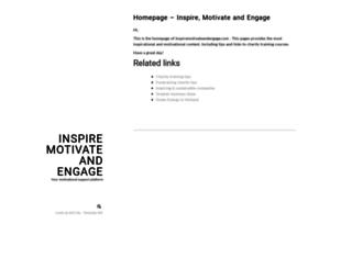 inspiremotivateandengage.com screenshot