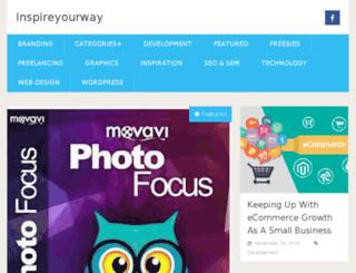 inspireyourway.com screenshot