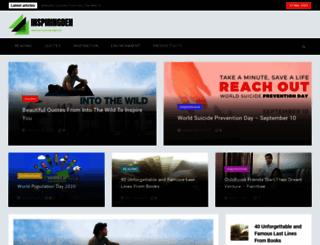 inspiringden.com screenshot
