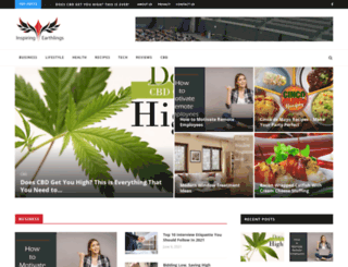 inspiringearthlings.com screenshot