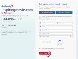 inspiringmovie.com screenshot