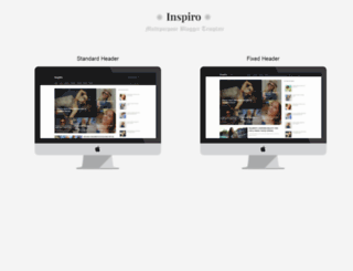 inspiro-demo.blogspot.in screenshot