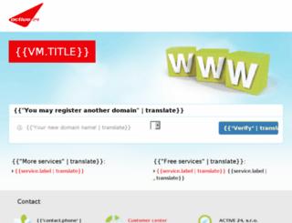 insport.cz screenshot