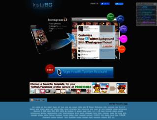 instabg.com screenshot